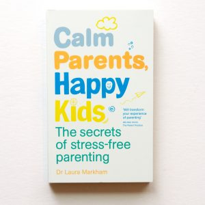 calm parents happy kids book cover