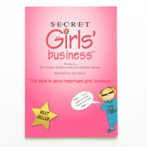 secret girls business book cover