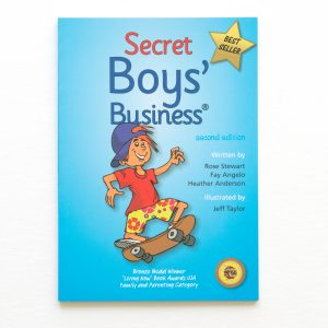 secret boys business cover